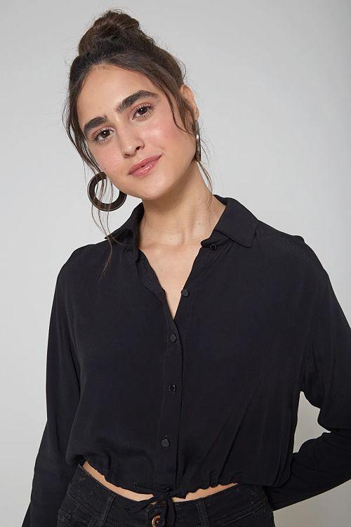 blusa nozinho preta
